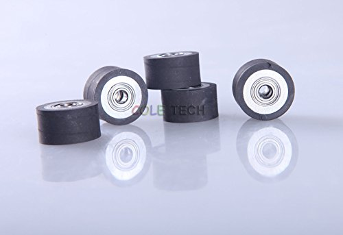 4x HQ Pinch Roller for Roland LiYu Rabbit Vinyl Cutting Cutte Plotter 4x11x16mm by Cole