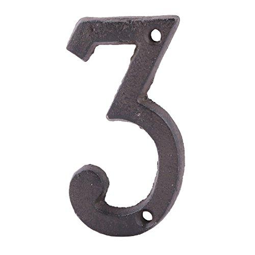 3 inch door numbers - 2