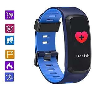Lu Fitness Tracker Actividad Pulsera Elegante Deportes Reloj con ...