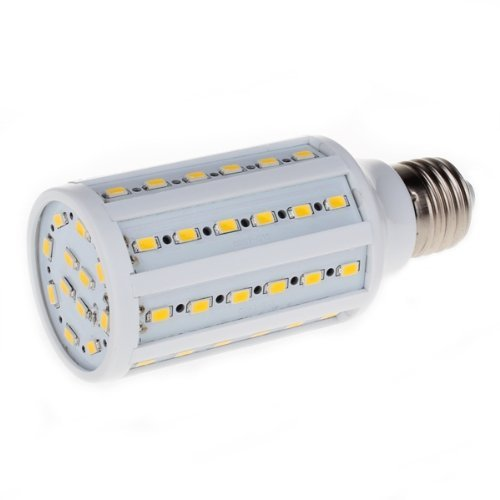 SODIAL(R) E27 12W 60 LED SMD 5630 Lampe Ampoule Mais Eclairage Blanc Chaud 3000K 960LM