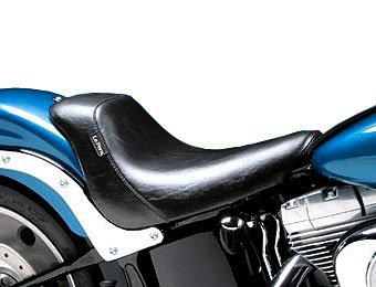 (Le Pera Bare Bones Solo Seat for Harley 2006-2009 Softail Models with 200 Mm Rear Tire (Except Deuce))