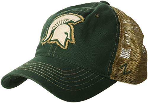 - Zephyr NCAA Michigan State Spartans Men's Tatter Relaxed Cap, Adjustable, Forest Green