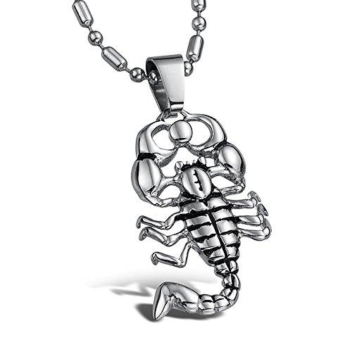 Kela Stainless Steel Scorpion King Scorpio Pendant