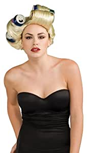 Rubies 3 51554 - Peluca lady Gaga para mujer (adulto)