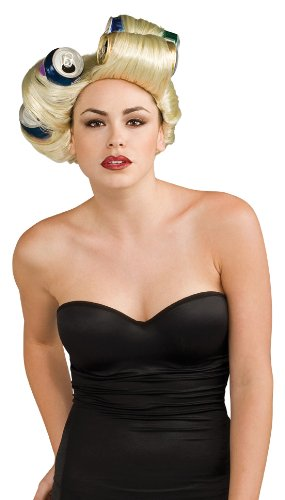 Lady Gaga Cans Wig,Blonde,One Size