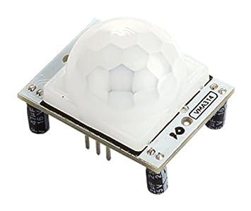 Velleman vma314 PIR Motion Sensor Detector para Arduino – Blanco