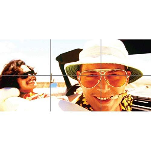 FEAR LOATHING LAS VEGAS MOVIE FILM JOHNNY DEPP DEL TORO HUNTER THOMPSON HUGE PRINT POSTER B498 ()