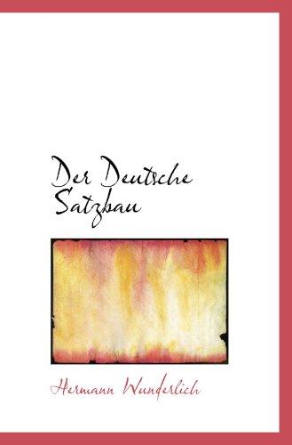 Der Deutsche Satzbau
