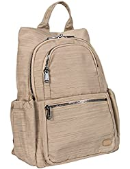 Lug Womens Hatchback Mini Backpack, Brushed Gold, One Size