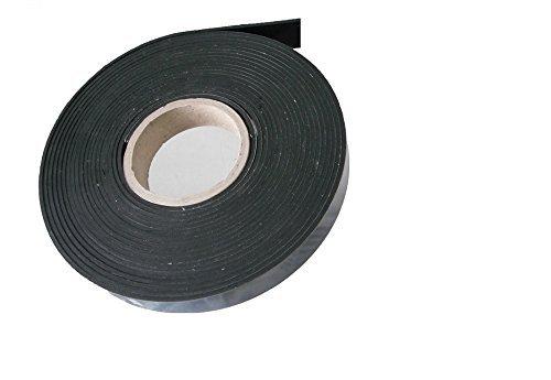 ca. 4,50 Meter x 20 x 2 mm, Vollgummi Gummistreifen Gummiprofil EPDM Hartgummi Vollgummidichtband, selbstklebend, Gummifritz24de