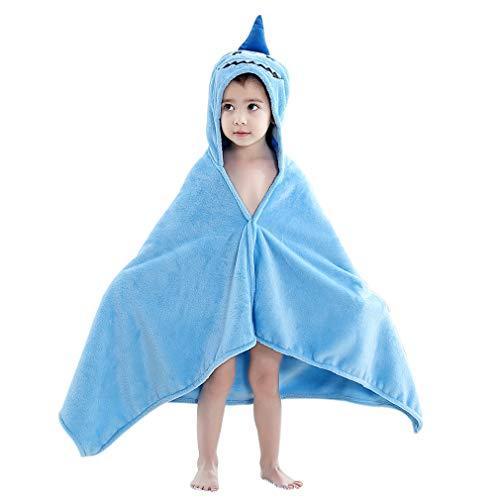 IDGIRL Baby Bath Hooded Beach Towel, Shark for