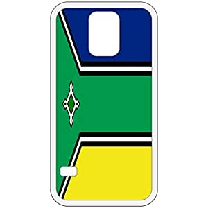 Amapa Flag White Samsung Galaxy S5 Cell Phone Case - Cover
