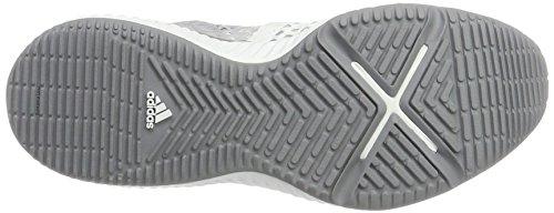 One Femme Grey adidas White W Grey Chaussures de Three Pro Gris Crazytrain F17 F17 Gymnastique Ftwr 11zqwHg