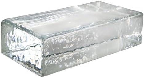 1 pieza Crystal Collection ladrillo de vidrio transparente ...