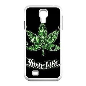 Samsung Galaxy S4 I9500 Phone Case for Marijuana Leaf grass Classic theme pattern design GMJLGCT876182