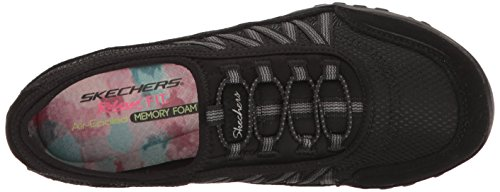 Skechers Taken Sneaker point Breathe black Nero Donna Easy POtPr