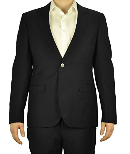 Michaelax-Fashion-Trade -  Blazer  - Basic - Uomo Schwarz(99) 44