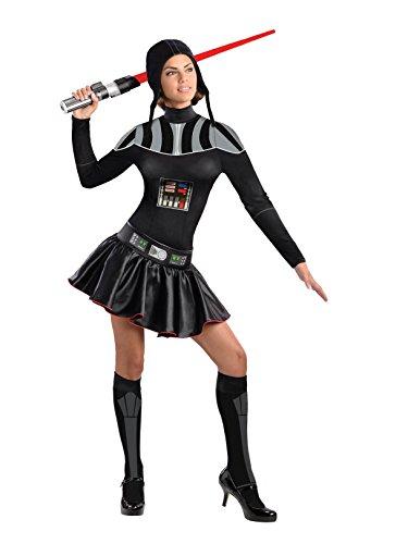 Secret Wishes Star Wars Female Darth Vader Costume, Black, -