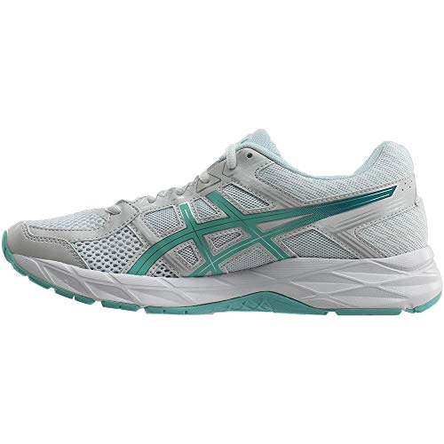 Asics Synthétique Course 4 Blue contend silver De aruba Large White Chaussure Gel rqOr7I