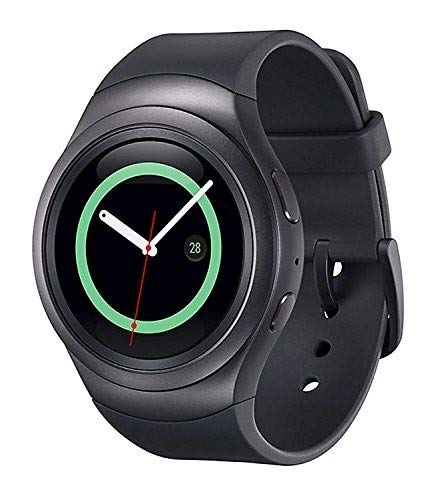 Samsung Gear S2 R730A Smartwatch (AT&T) - Black / Dark Gray (Renewed)