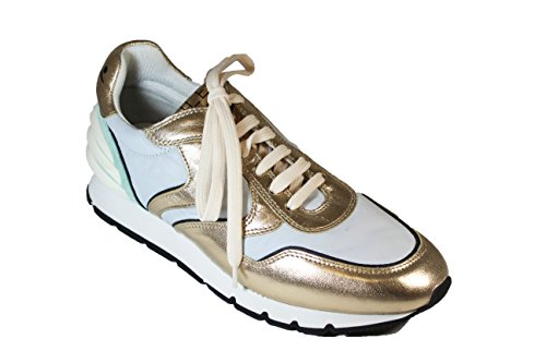 Blanche Voile Pelle Sneakers Julia In Power pwwO84dq