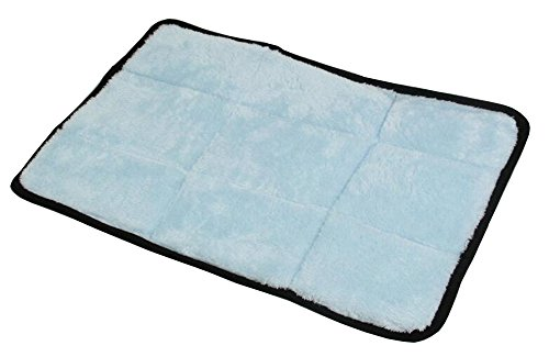 LPET Dog Sleeper Stuffed Bed Usable All Seasons for Pets (L, Blue)