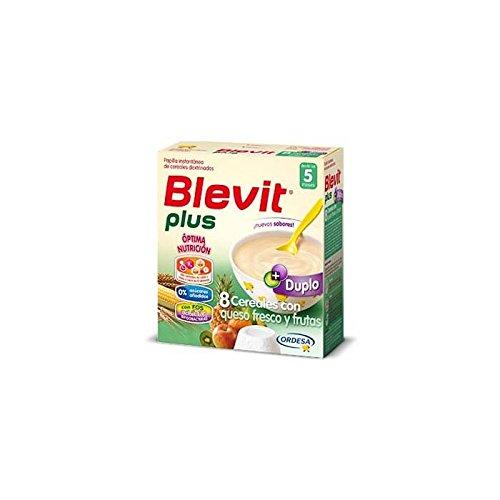 Blevit Plus Duplo 8 Cereales Con Queso Fresco Y Frutas 600G
