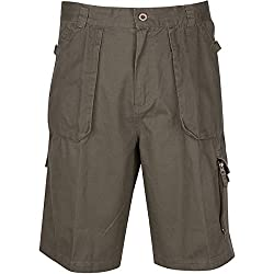 4 Mile Classic American Cargo Shorts Olive (36)