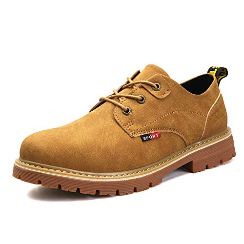 flessibili vivere Earthy Pelle casa Martin Scarpe per Dimensione camminare Uomo EU uomo 44 Yellow Shoes Color Scarpe da Superfine yellow 2018 Formal per uomo compagnia e Earthy in antiscivolo RAqO8wAx