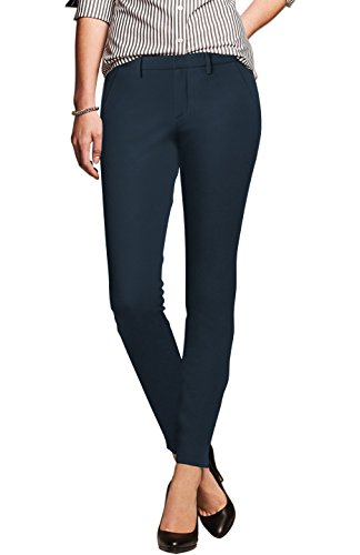 navy blue dress pants for women - 8