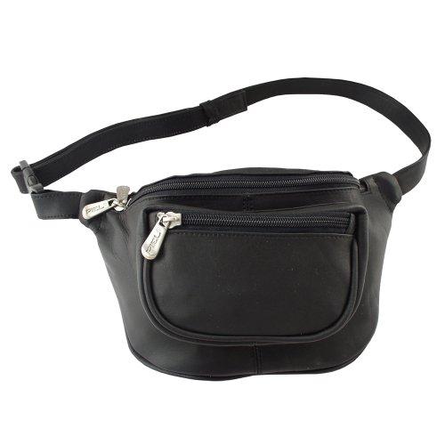 piel-leather-travelers-waist-bag-black-one-size