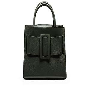Fashion Leather Ladies Handbag/Bark Diagonal Shoulder Bag/Outdoor Rational Business Backpack (Color : Green)