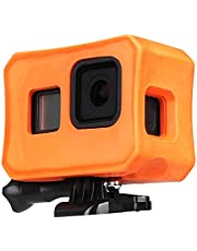 Floaty Case for GoPro Hero 8 Black Floating Accessories with Screw for Water Sports Swimming Diving, Ultra-Buoyant