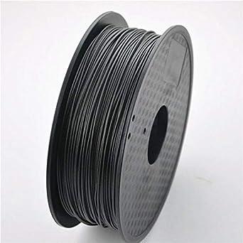 Fibra de carbono 3D 1,75 mm, 1000 g, 1,75 mm, impresión 3D, 20cm x ...