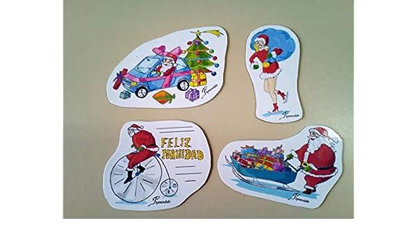 Imanes decorativos con motivos navideños para nevera ...