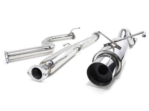 Catback Muffler Exhaust System for 96 97 98 99 00 Honda Civic Hatchback Model