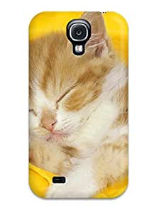 Fashion Protective Cat Case Cover For Galaxy S4