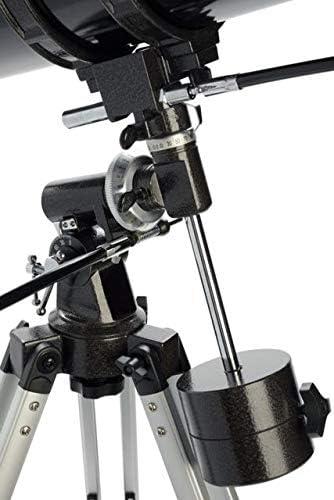 21049-OP-DS OpticsPlanet Exclusive Celestron PowerSeeker 127EQ Telescope w//Smartphone Adapter