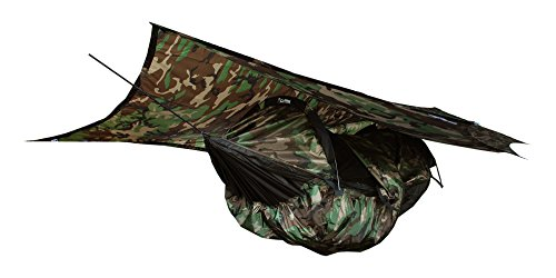 Clark NX-270 Four-Season Camping Hammock - CAMO (Clark Jungle Hammock)