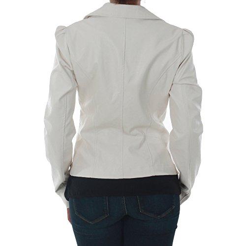7690 Cazadora Rinascimento Mujer bianco Blanco grpgqt4