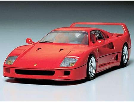 Tamiya Ferrari F 40 Sports Car Molded In Red 1 24 Japan Import Amazon De Spielzeug
