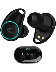 MYCARBON Bluetooth Kopfhörer In Ear kabellos Kopfhörer Sport mit LED Digitalanzeige 3D Stereo Wireless Kopfhörer 45H Spielzeit CVC8.0 Noise Cancelling Wasserdicht für iPhone Android