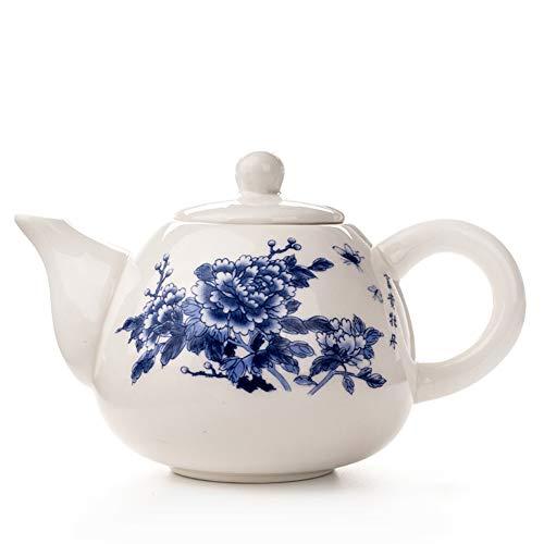 (Ceramic Teapots Yixing Tea Pot White Porcelain Tea Sets Chinese Teapot Unique Kettle Kung Fu Teaset Infuser China Tea Cups D001 4)