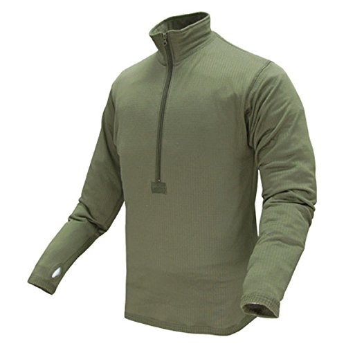 Base Olive (Condor Outdoor BASE II Zip Pullover (XX-Large, Olive Drab))