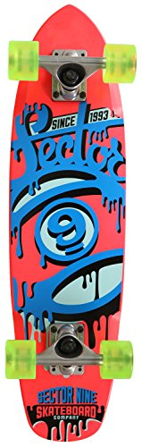 Sector 9 The 95' Complete Skateboard, Pink