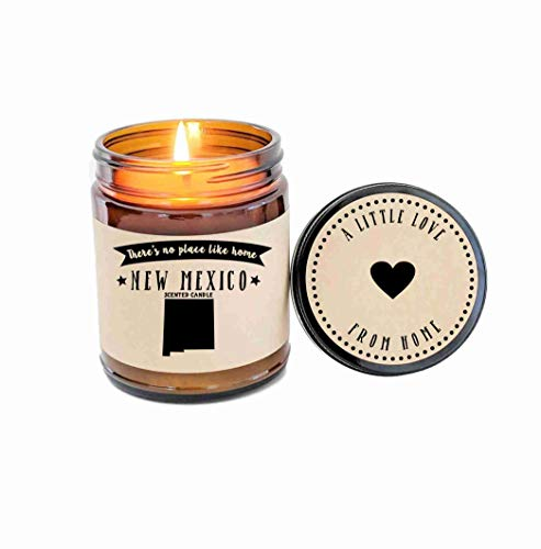 New Mexico Scented Candle Missing Home Homesick Gift Moving Gift New Home Gift No Place Like Home State Candle Miss You Valentines Day Gift