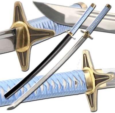 Japanese Handmade Hitsugaya Hyourinmaru Zanpakuto Sword Swords Amazon Canada