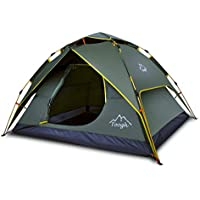 Toogh 2-3 Person Camping Tent Backpacking Tent Automatic...