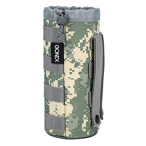 - Gonex Tactical Military MOLLE Water Bottle Pouch ACU Camo