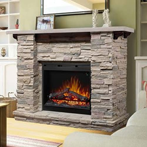 Buy products related to electric stone fireplace products and see what customers say about electric stone fireplace products on Amazon.com ? FREE DELIVERY possible on eligible purchases